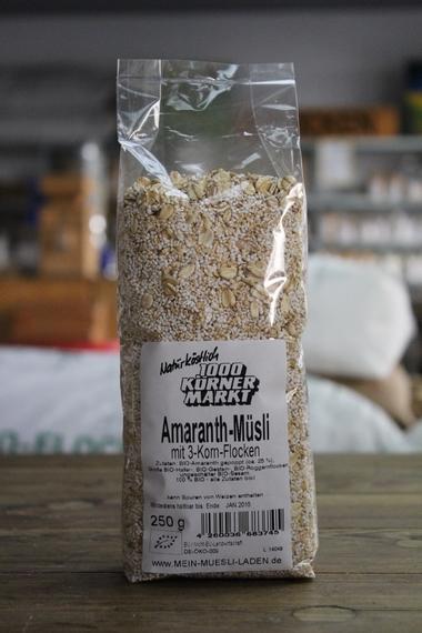 Amaranth-Muesli