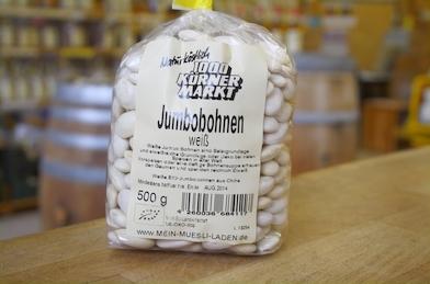 Jumbobohnen