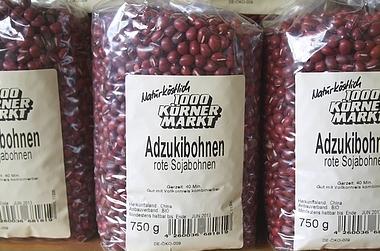 rote Sojabohnen